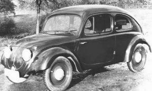 Prototyp Volkswagena z lat trzydziestych